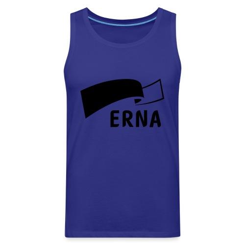 Velg Erna - Premium singlet for menn