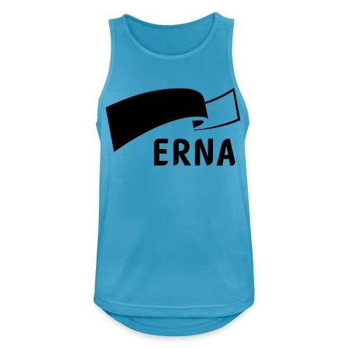 Velg Erna - Pustende singlet for menn