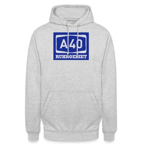 A40 - Ruhrgebiet - Männer klassischT-Shirt - Unisex Hoodie