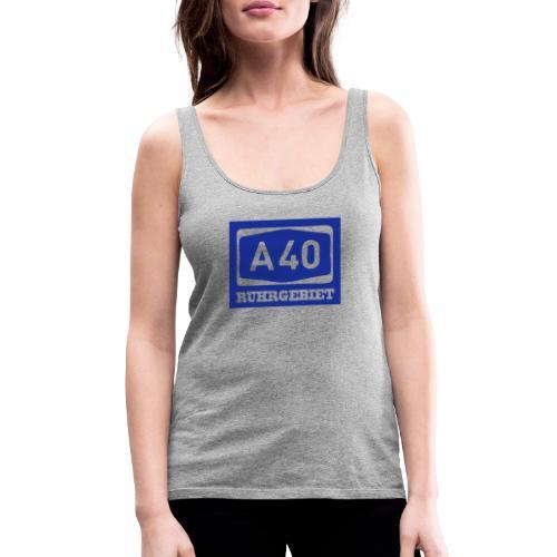 A40 - Ruhrgebiet - Männer klassischT-Shirt - Frauen Premium Tank Top