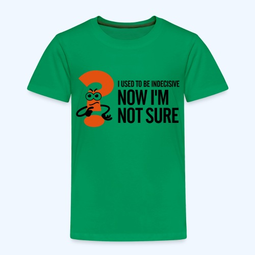 Green Indecisive Mens T-Shirt - Kids' Premium T-Shirt