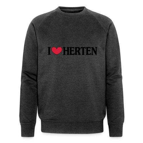 I ♥ Herten - Männer T-Shirt klassisch - Männer Bio-Sweatshirt von Stanley & Stella