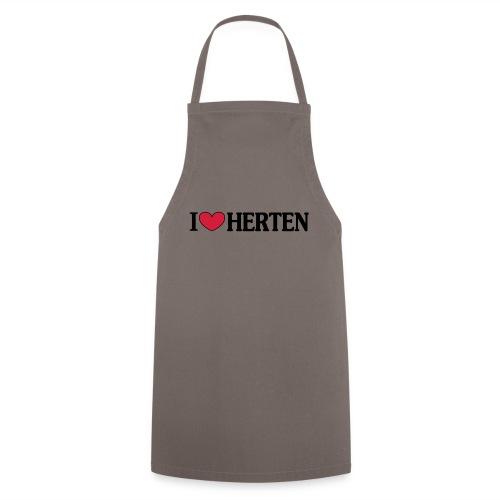 I ♥ Herten - Männer T-Shirt klassisch - Kochschürze