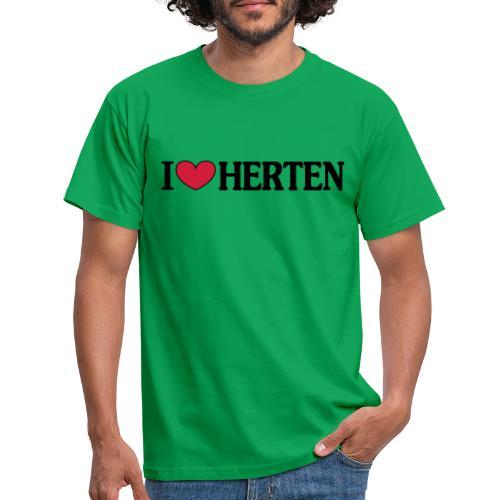 I ♥ Herten - Männer T-Shirt klassisch - Männer T-Shirt