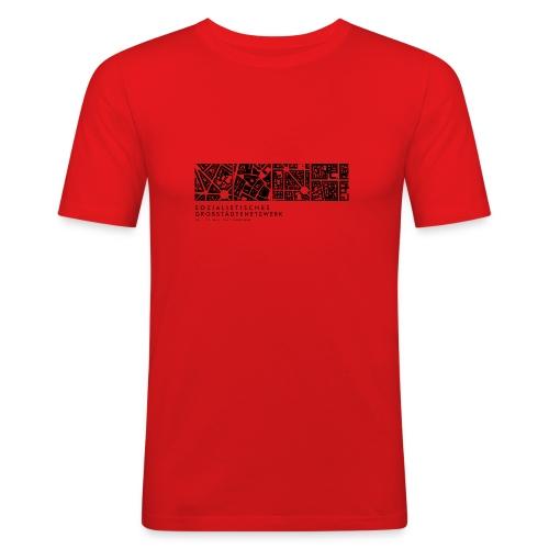 Großstädtenetzwerk - Männer Slim Fit T-Shirt