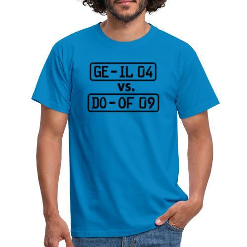 GE-IL 04 vs DO-OF 09 - Männer T-Shirt