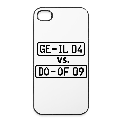 GE-IL 04 vs DO-OF 09 - iPhone 4/4s Hard Case
