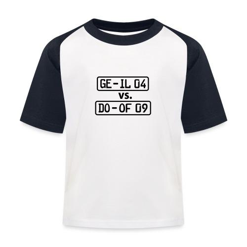 GE-IL 04 vs DO-OF 09 - Kinder Baseball T-Shirt