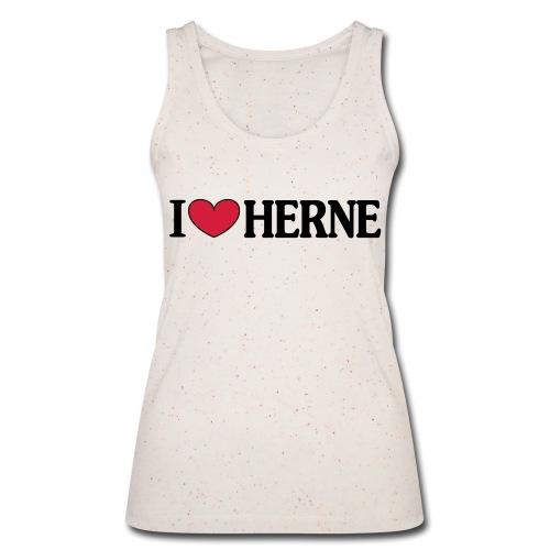 I ♥ love Herne - Männer T-Shirt klassisch - Frauen Bio Tank Top von Stanley & Stella