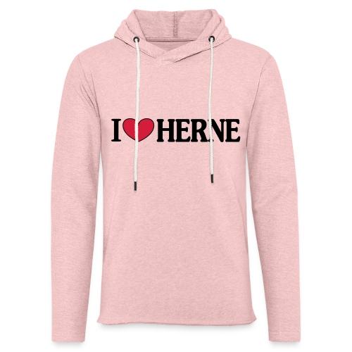 I ♥ love Herne - Männer T-Shirt klassisch - Leichtes Kapuzensweatshirt Unisex
