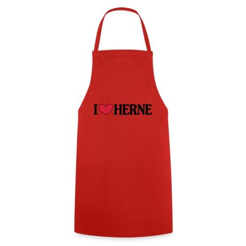 I ♥ love Herne - Männer T-Shirt klassisch - Kochschürze