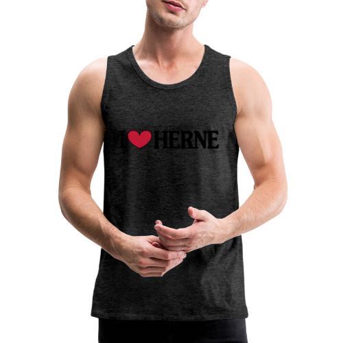 I ♥ love Herne - Männer T-Shirt klassisch - Männer Premium Tank Top