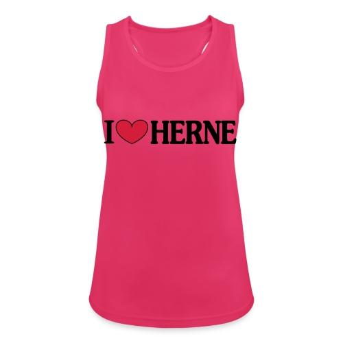 I ♥ love Herne - Männer T-Shirt klassisch - Frauen Tank Top atmungsaktiv