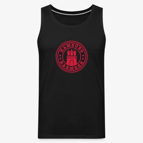 HAMBURG Barmbek - Hamburger Wappen Fan-Design HH Männer Shirt - Männer Premium Tank Top