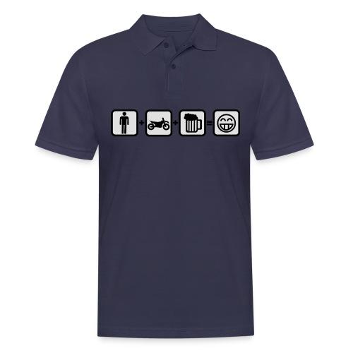 Biker Bill for real Men FlexShirt HQ - Männer Poloshirt