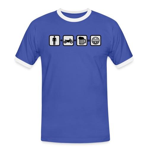 Biker Bill for real Men FlexShirt HQ - Männer Kontrast-T-Shirt