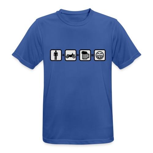 Biker Bill for real Men FlexShirt HQ - Männer T-Shirt atmungsaktiv