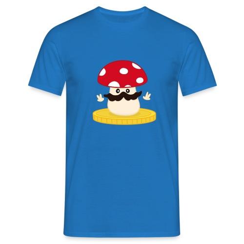 Champignon winner bleu - T-shirt Homme