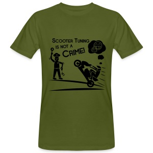 Scooter Tuning is not a Crime! FlexShirt HQ - Männer Bio-T-Shirt