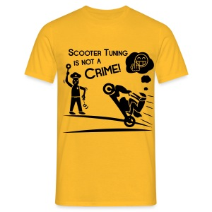 Scooter Tuning is not a Crime! FlexShirt HQ - Männer T-Shirt