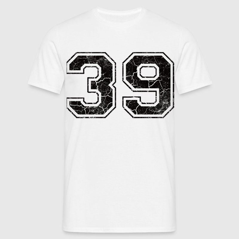 Number 39 in the used look T-Shirts - Men's T-Shirt