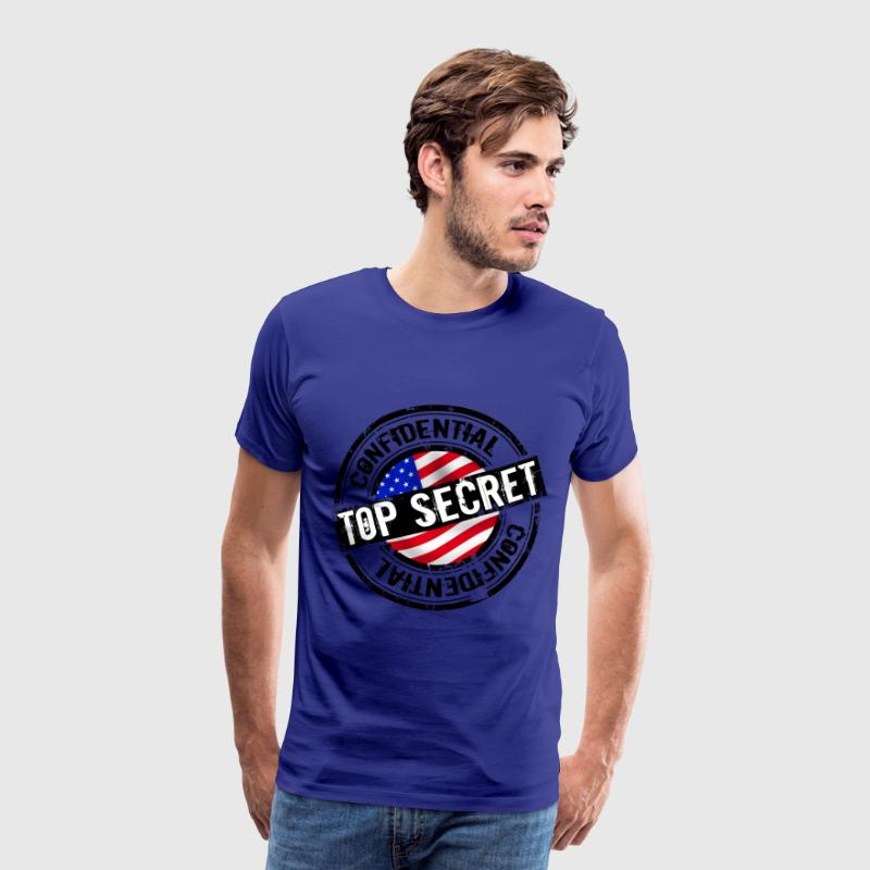 top secret Tee shirts - T-shirt Premium Homme