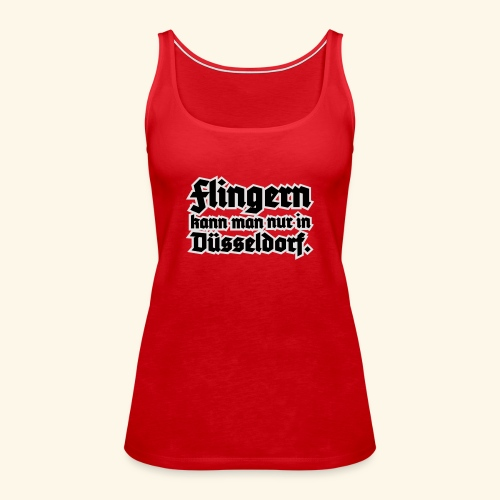 Flingern, Girlie - Frauen Premium Tank Top
