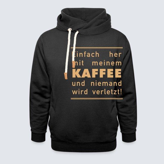 Her mit meinem Kaffee