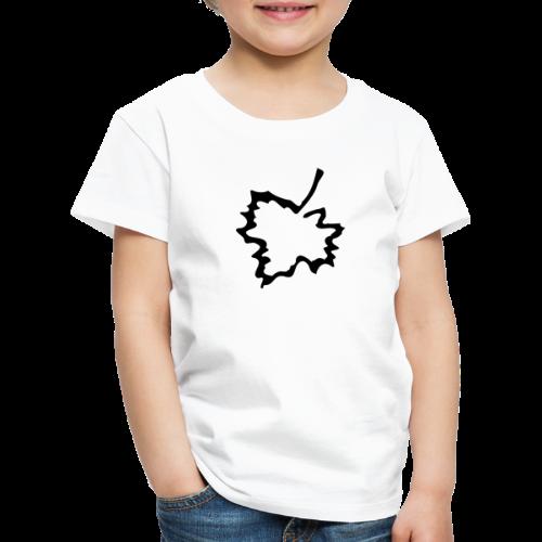 Anstecker Herbstblatt - Kinder Premium T-Shirt