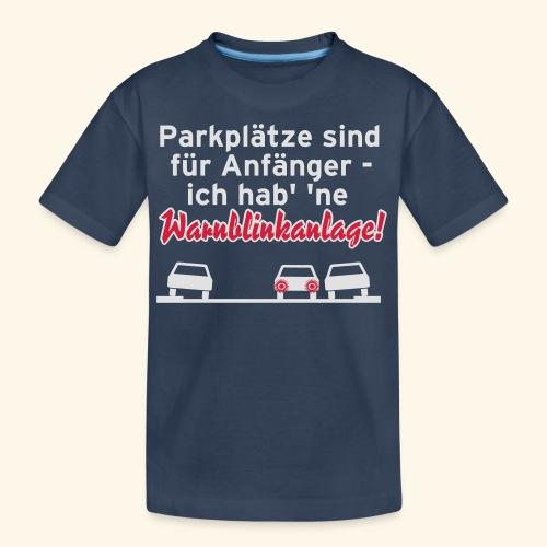Warnblinker, Kerlie - Teenager Premium Bio T-Shirt