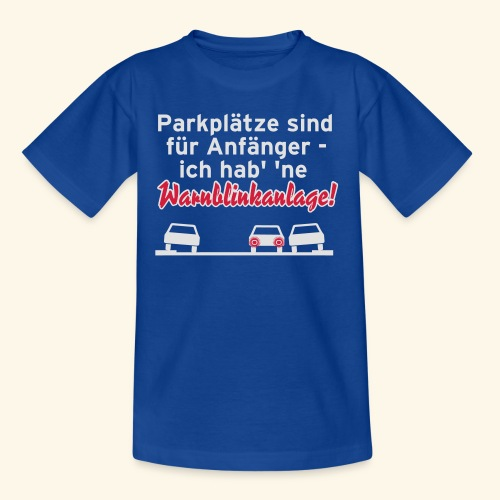 Warnblinker, Kerlie - Teenager T-Shirt