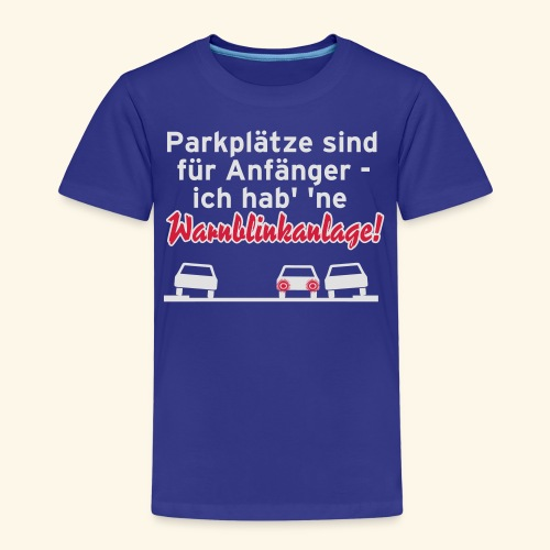 Warnblinker, Kerlie - Kinder Premium T-Shirt