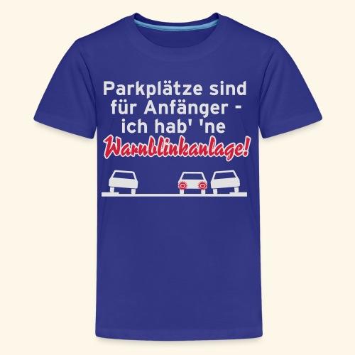 Warnblinker, Kerlie - Teenager Premium T-Shirt