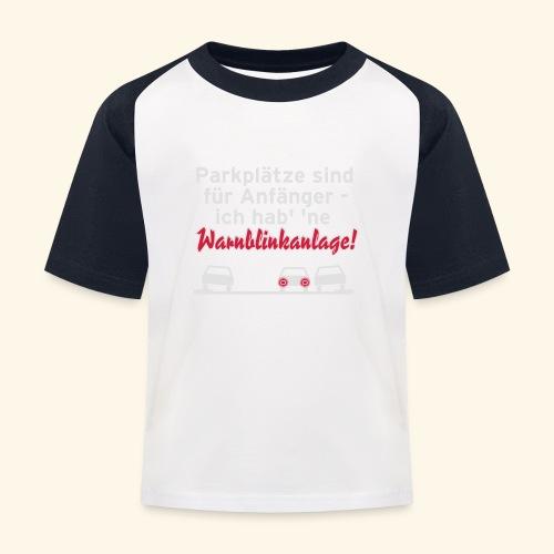 Warnblinker, Kerlie - Kinder Baseball T-Shirt
