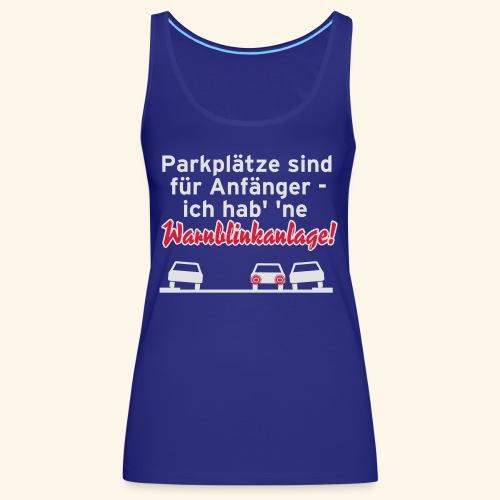 Warnblinker, Kerlie - Frauen Premium Tank Top