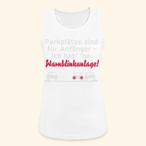 Warnblinker, Kerlie - Frauen Tank Top atmungsaktiv