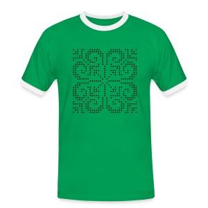 Selburose - Kontrast-T-skjorte for menn