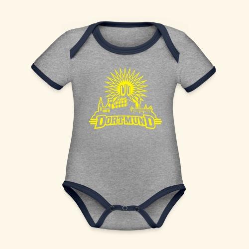 Dortmund, Girlie - Baby Bio-Kurzarm-Kontrastbody