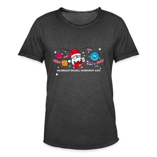 Damenshirt Weihnachtskugelworkshop - Männer Vintage T-Shirt