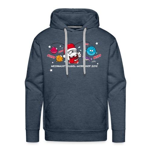 Damenshirt Weihnachtskugelworkshop - Männer Premium Hoodie