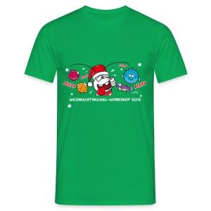 Damenshirt Weihnachtskugelworkshop - Männer T-Shirt