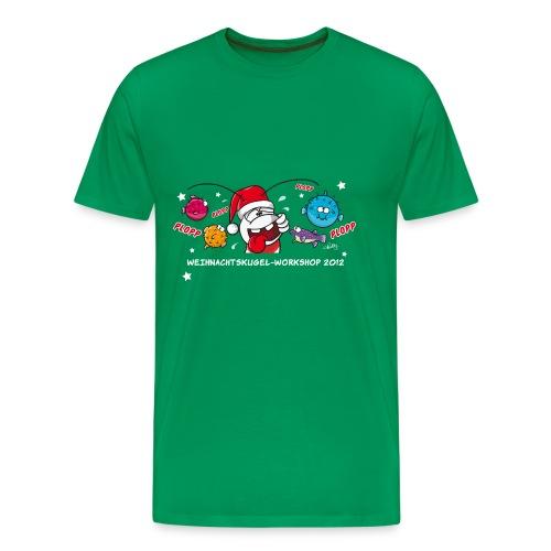 Damenshirt Weihnachtskugelworkshop - Männer Premium T-Shirt