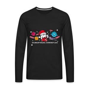 Damenshirt Weihnachtskugelworkshop - Männer Premium Langarmshirt