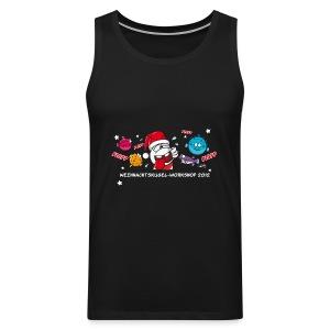 Damenshirt Weihnachtskugelworkshop - Männer Premium Tank Top