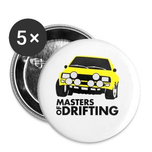 Masters of drifting HQ Flock - Buttons klein 25 mm