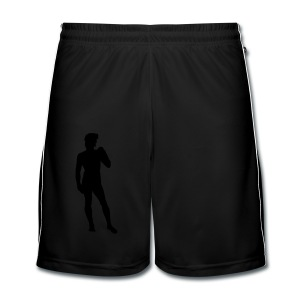 David - Männer Fußball-Shorts