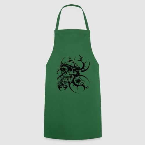 Herren Totenkopf T-Shirt - Kochschürze