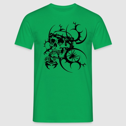 Herren Totenkopf T-Shirt - Männer T-Shirt