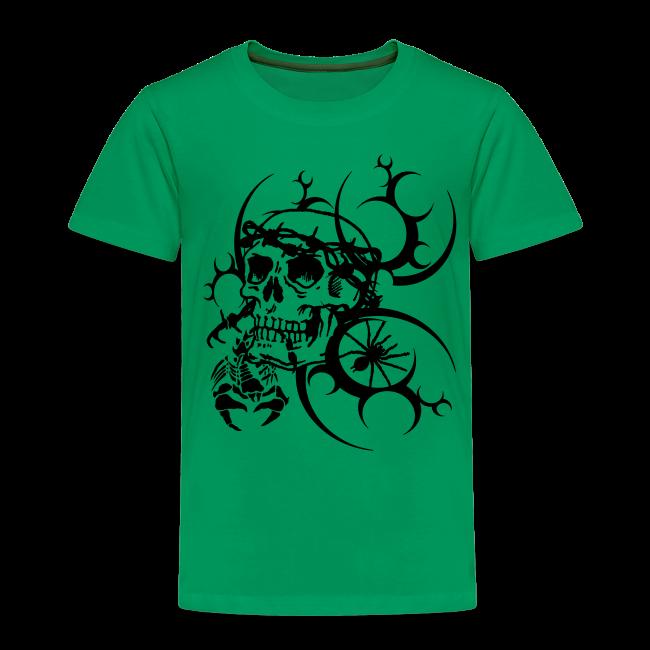 8dc1c8699861f2 Herren Totenkopf T-Shirt