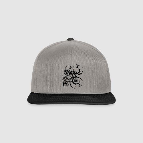 Herren Totenkopf T-Shirt - Snapback Cap